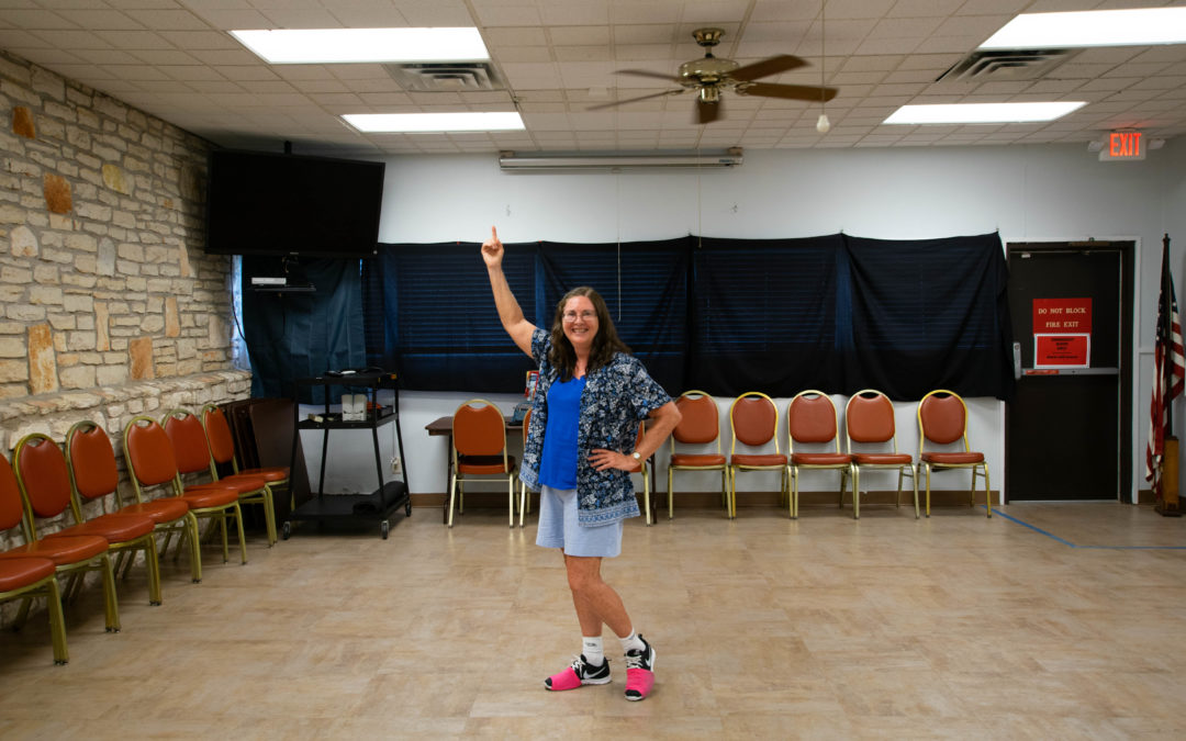 Retiree finds a family through dance, one step at a time